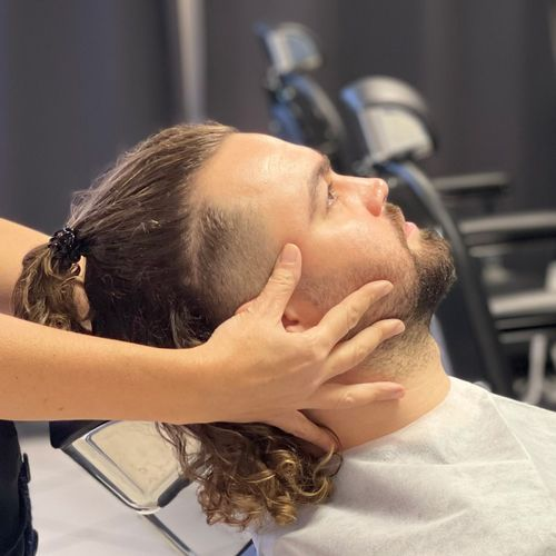 homme coiffure